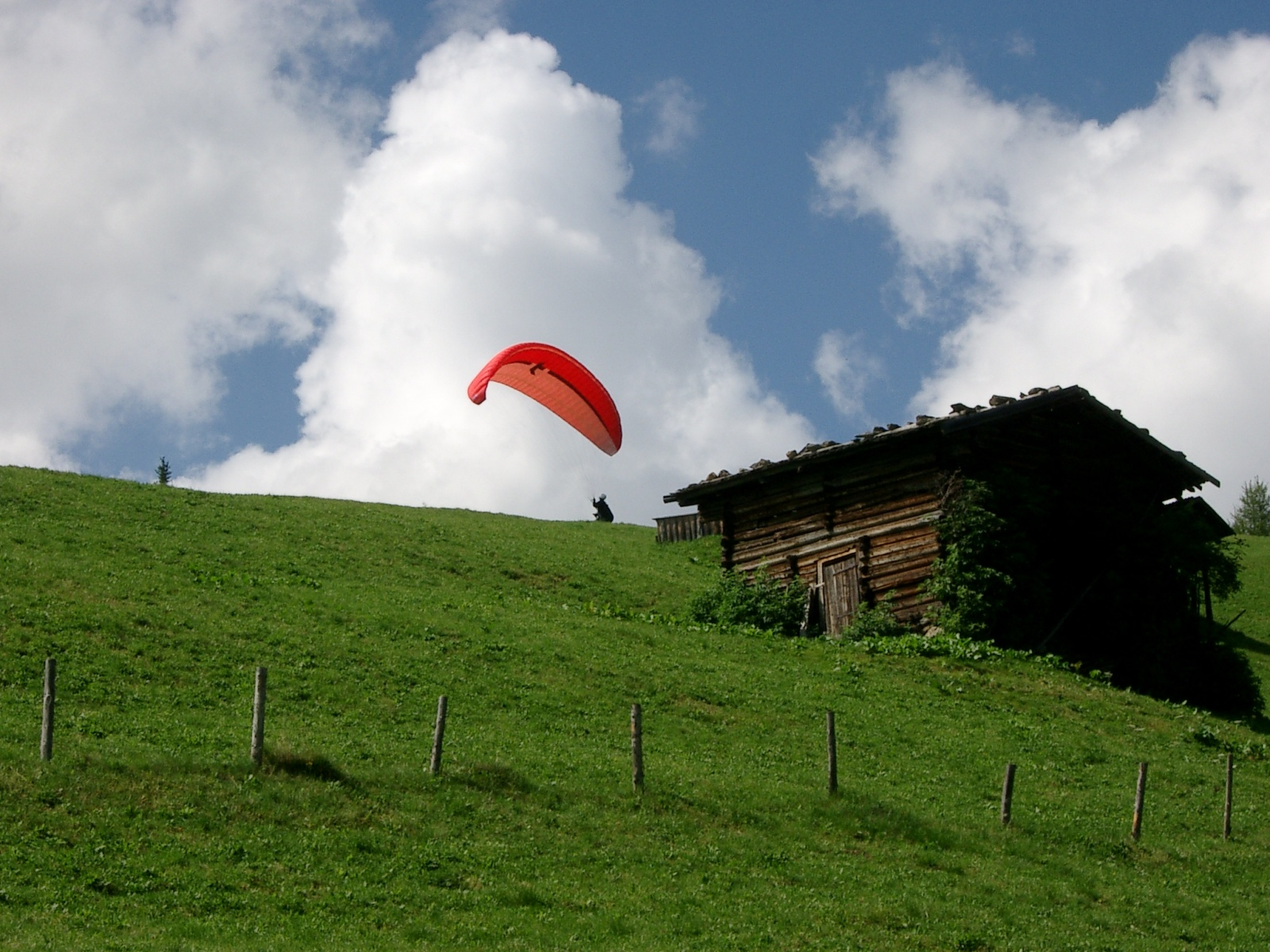 Thermikdummy – so kommt auch der Suppporter in die Luft