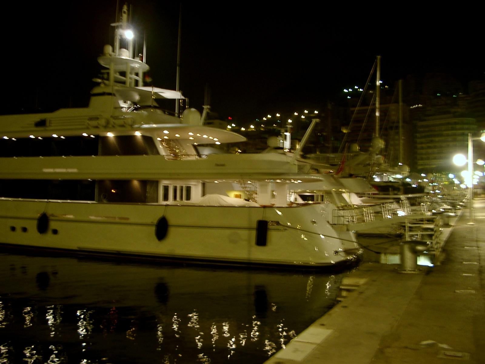 beeindruckende Yachten