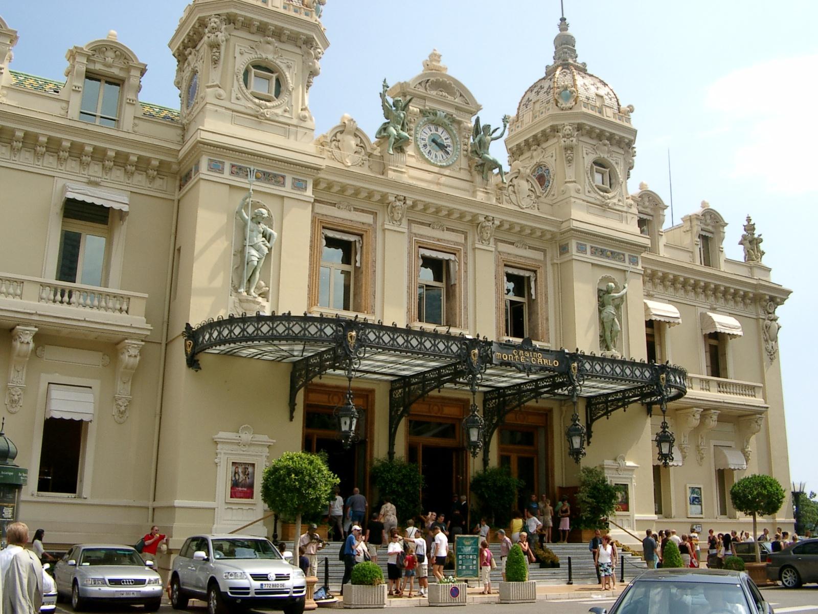 das berühmte Casino von Monaco