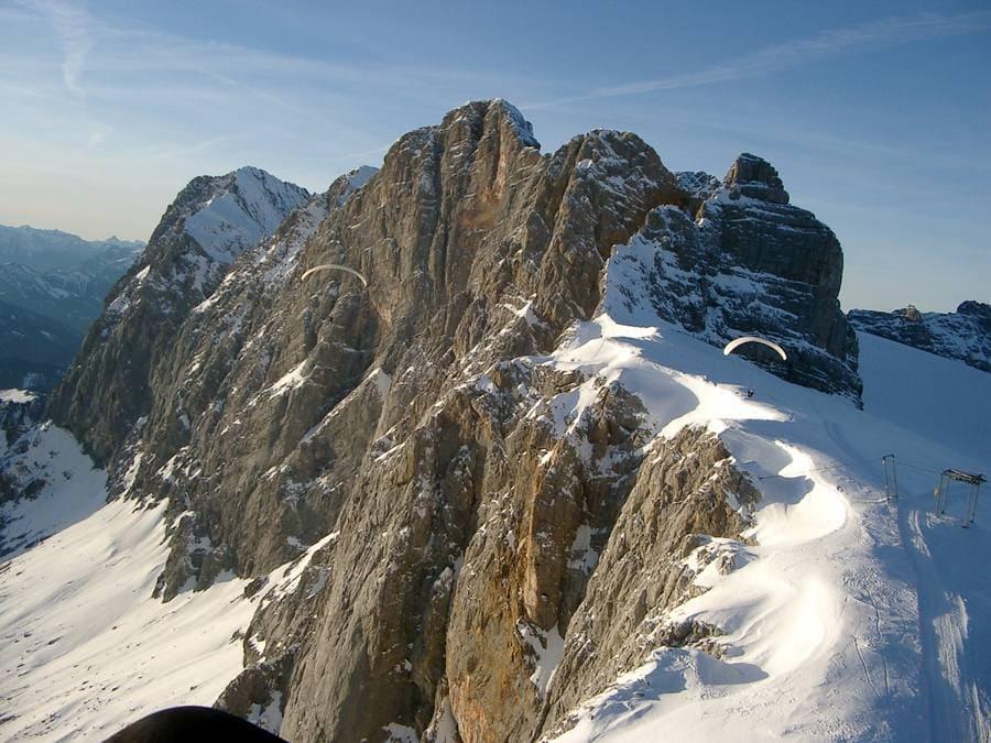 14.12.02: Soaring an der Dachstein-Südwand