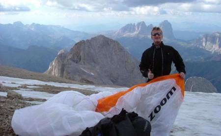 05.09.04: Herbst-Streckenfliegen in den Dolomiten - Marmolada inklusive!