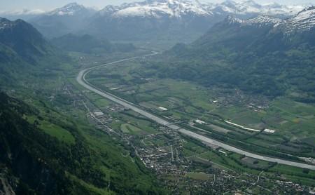 04.05.03: Gaflei - Flug über Liechtenstein (~20km)