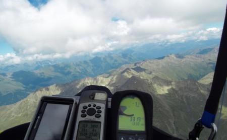 07.08.09: Hochstein/Lienz - 119km FAI-Dreieck