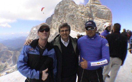 14.07.-30.07.03: Teilnahme am 1. Red Bull X-Alps