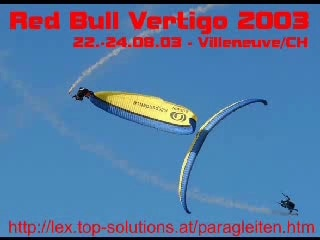 Red Bull Vertigo 2003 - Villeneuve