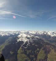 …und weiter über Sterzing ins Ridnaun-Tal queren, das uns mit einem satten WSW-Wind empfing