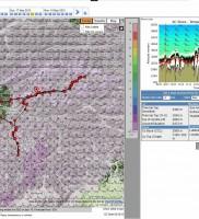 5: XCSKies Regenprognose und Wind in 3600m um 17 Uhr