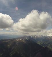 11: Aber ab Bruneck erwartete uns dann diese schöne Wolkenstraße…
