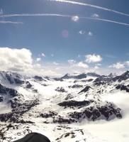 14: Für diese Jahreszeit krochen wir wieder tief ins Ridnaun rein – 2. Wendepunkt optimal gesetzt in wundervoller Gletscherwelt…