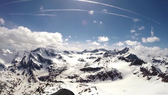 Neuen Schirm Ozone Mantra M6 eingeflogen: 249km flaches Dreieck