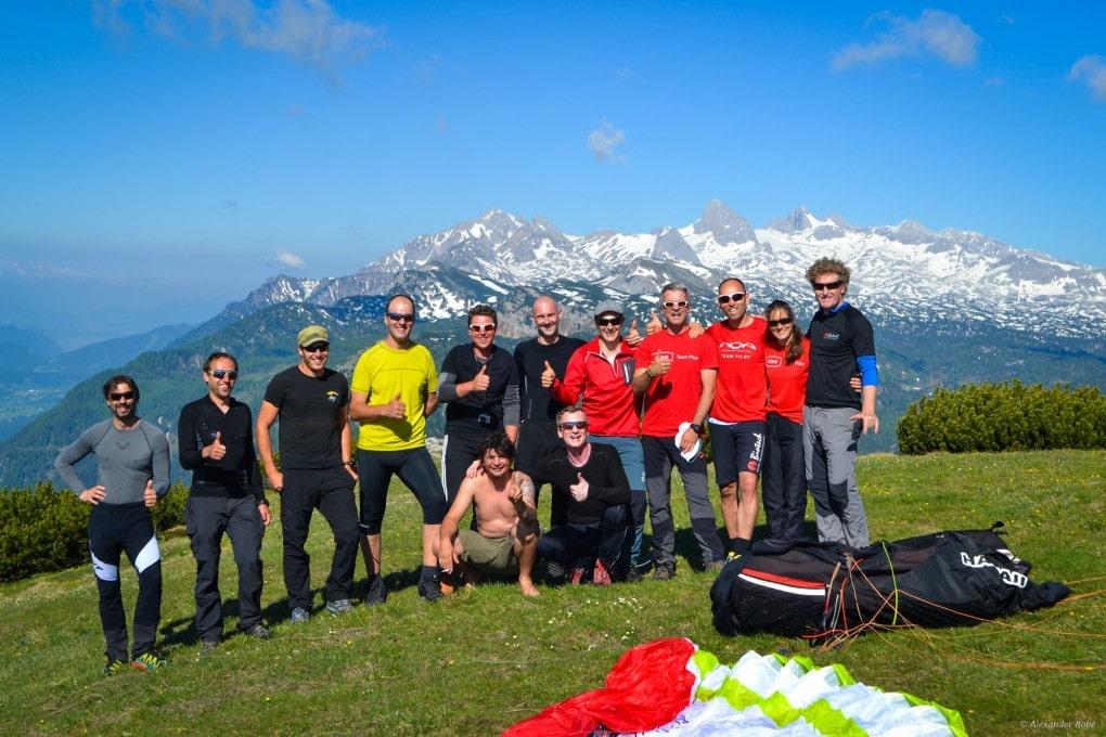 05.06.15: neuer STEIERMARK-REKORD: 257km FAI-Dreieck
