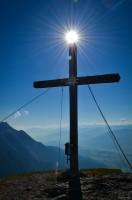 7: schönes Kreuz, noch schöneres Bummerl auch am Kammspitz :-)