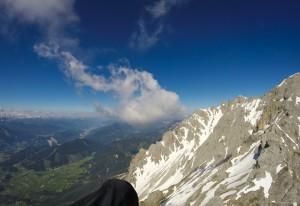 11: gerade das letzte Bummerl am Dachstein war sautief bei 2500m