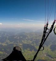 21: Das Breithorn schenkte uns mit 3500m Basis genügend Höhe um ohne Schnörkel Richtung Pinzgau zu stechen