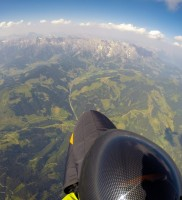 23: Blick zurück auf Hochkönig und Steinernes Meer, als ich…