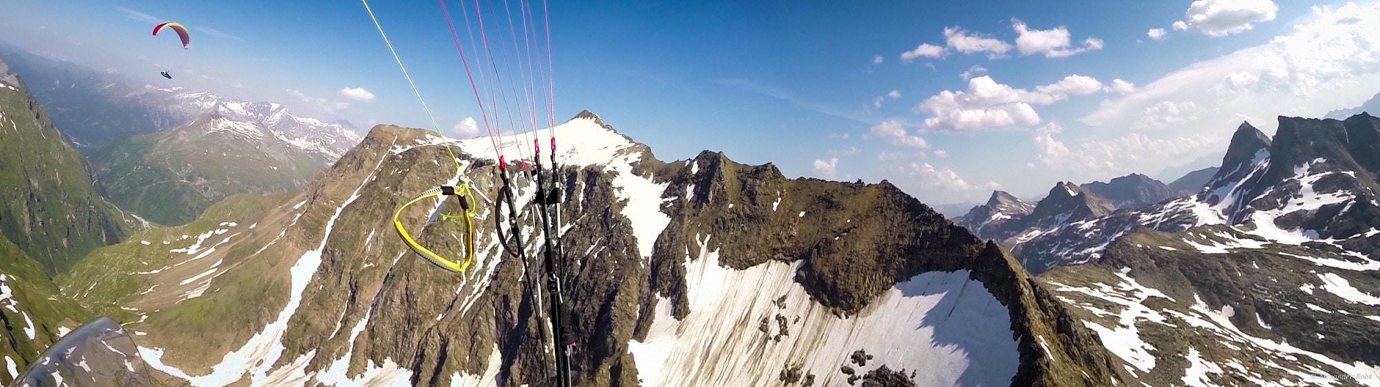 27c: diesmal bis ganz nach vorne -> direkt am Hauptgrat des Alpenhauptkamms mit Berni gewendet