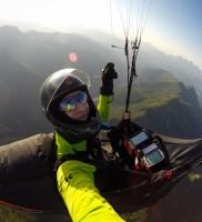 35: selbst Einstiege um 2500m gelangen noch und erlaubten nochmal 300m Höhengewinn – mit angenehmem NW-Wind-Versatz