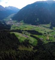 Di_36: Der starke O-Wind ließ erst im Antholzer-Tal spürbar nach – gleich wie die Powersoaring-Anspannung noch so spät abends…