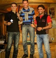 2: Serienklasse-Sieger: Stefan Brandlehner vor Michael Wöhrle vor Herbert Tamegger