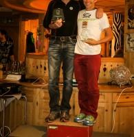 3: Austria-Cup Liga-Podium: Armin Eder (2.) mit Helmut Eichholzer (3.)