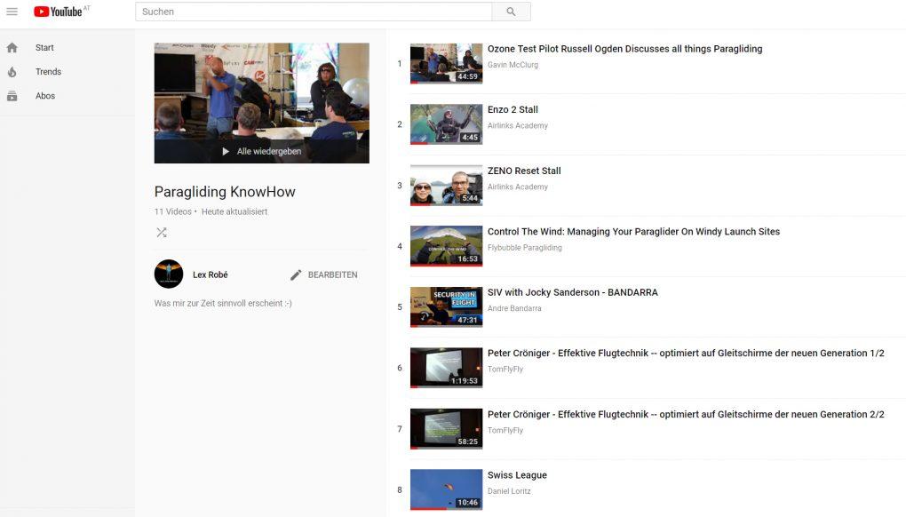 Tip-Kompendium - VIDEO-Playlist