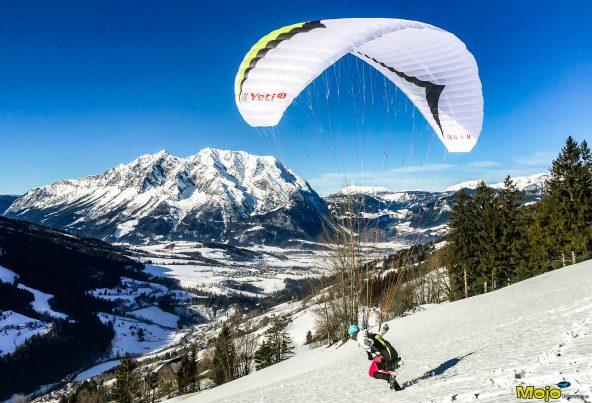 Mojo-Silvesterfliegen wieder mal bei grandiosem Winterwetter