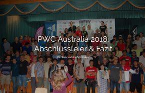 24.02.18: PWC Bright - Abschlussfeier & Fazit