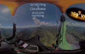 The Beauty of Paragliding Jojo - in 360°
