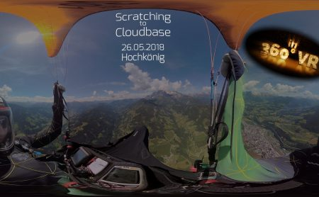 The Beauty of Paragliding Jojo - in 360°